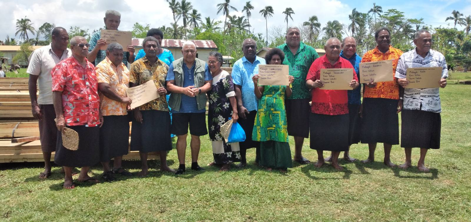 Pine Group Delivers First Batch of Housing Rehabilitation Materials to its Landowners in Bua