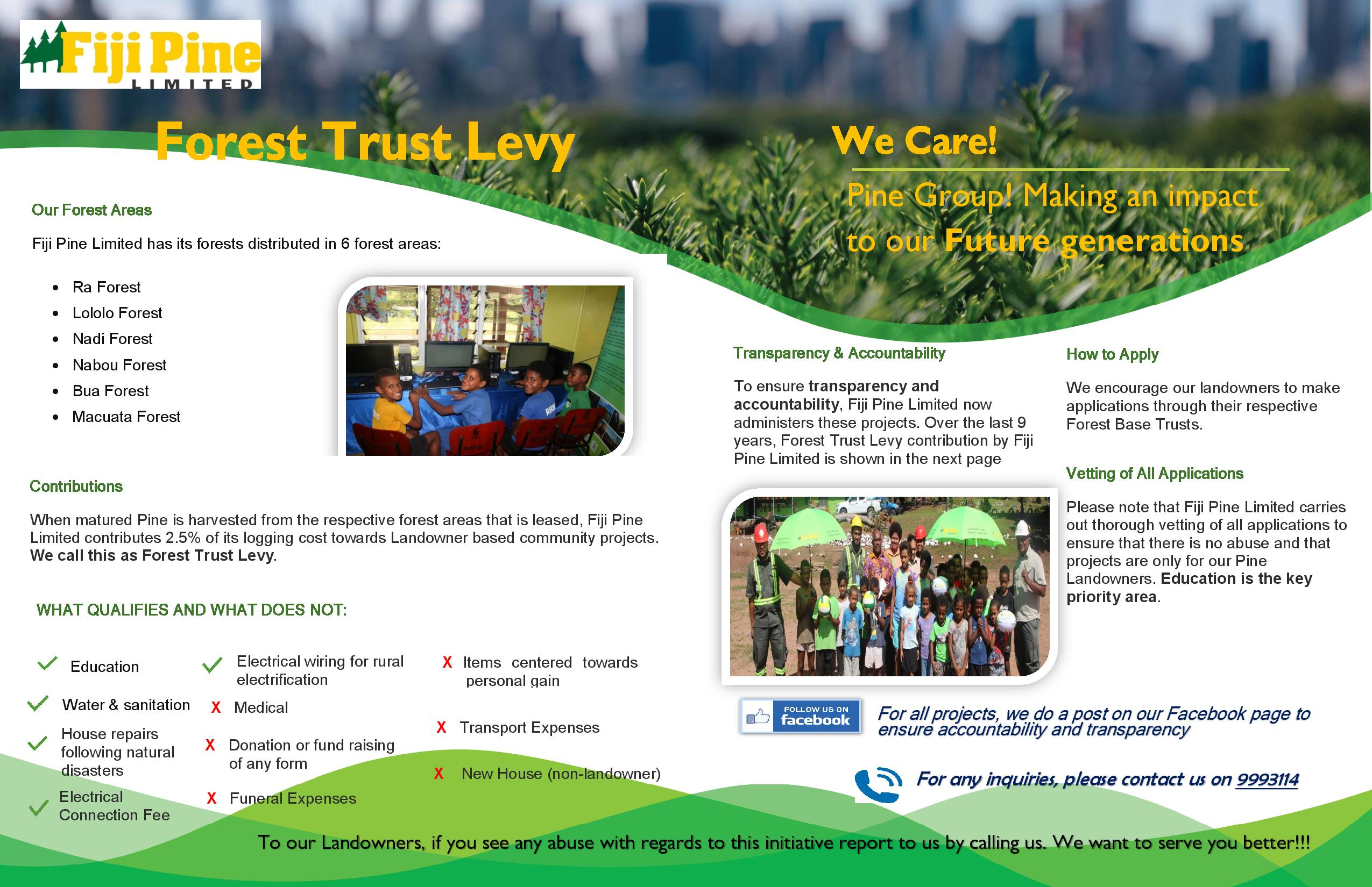 Forest Trust Levy